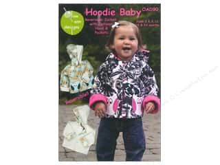 Olive Ann Designs Wearables Patterns: Olive Ann Hoodie Baby Size 3-24 Months Pattern