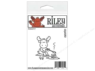 Outdoors Stamps: Riley & Company Cling Stamps Campfire