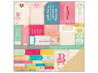 Crate Paper 12 x 12 in. Paper Oh Darling What A Doll (25 piece)
