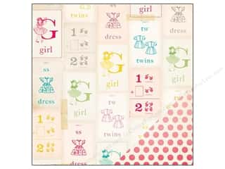 Crate Paper 12 x 12 in. Paper Oh Darling My Girl (25 piece)
