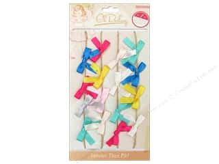 NEW EK Jolees Boutique Embellishments: Crate Paper Oh Darling Jute Garland Fabric Bow