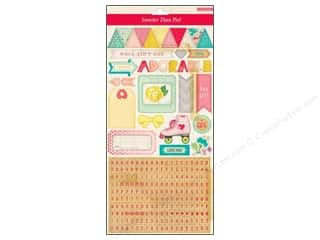 Crate Paper Alphabet Stickers: Crate Paper Stickers Oh Darling Alpha