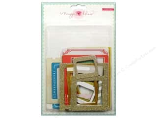 Picture/Photo Frames Think Pink: Crate Paper Embellishments Maggie Holmes Styleboard Frames