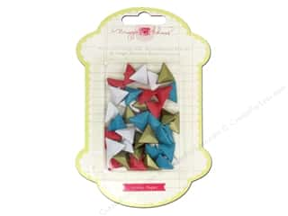 NEW EK Jolees Boutique Embellishments: Crate Paper Maggie Styleboard Metal Studs Triangle