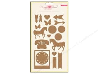 Crate Paper Dimensional Stickers: Crate Paper Stickers Maggie Holmes Styleboard Corkboard