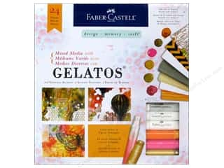 Painting Knife / Palette Knife: FaberCastell Gelatos Mixed Media Kit