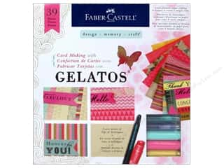 Stencils Projects & Kits: FaberCastell Gelatos Card Making Kit