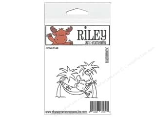 Sand Animals: Riley & Company Cling Stamps Hammock