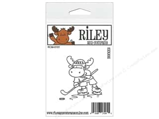R&C Cling Stamp Hockey