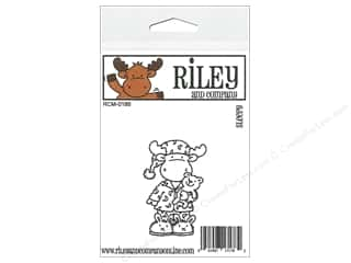 moose: Riley & Company Cling Stamps Sleep