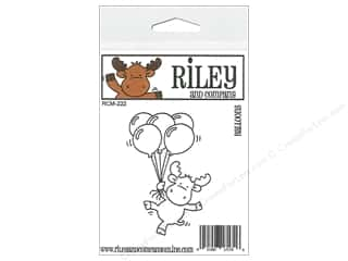 Party & Celebrations Projects & Kits: Riley & Company Cling Stamps Balloons
