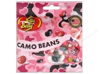 Edibles / Foods: Jelly Belly Jelly Beans 3.5oz Pink Camo
