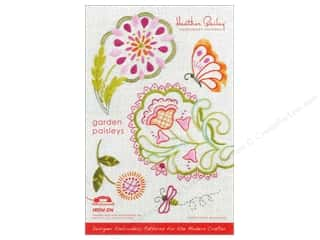Sheet Vinyl Books & Patterns: Heather Bailey Garden Paisley Embroidery Pattern