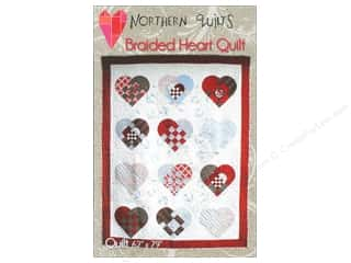 Quilt in a Day Quilt Patterns: Northern Quilts Braided Heart Quilt Pattern