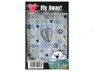 Bear Paw Productions Fat Quarter / Jelly Roll / Charm / Cake Books: Northern Quilts Fly Away Pattern