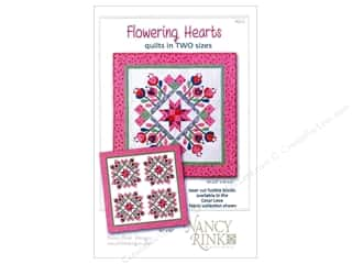 Pieceful Expressions: Nancy Rink Designs Flowering Hearts Pattern