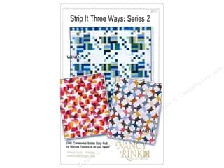 Bosal Fat Quarter / Jelly Roll / Charm / Cake Patterns: Nancy Rink Designs Strip It Three Ways: Series 2 Pattern