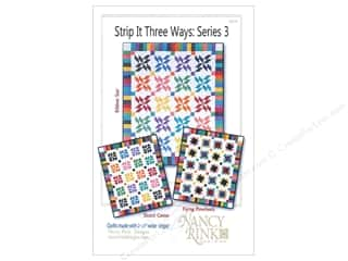 prove quilting: Nancy Rink Designs Strip It Three Ways: Series 3 Pattern