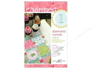Table Runners / Kitchen Linen Patterns: Charmed 1 Diamond Runner Pattern