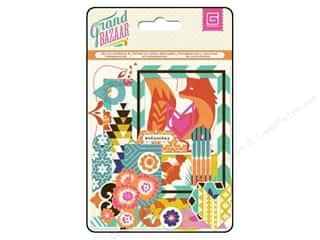 Scrapbooking Clear: BasicGrey Die-Cuts & Transparencies Grand Bazaar