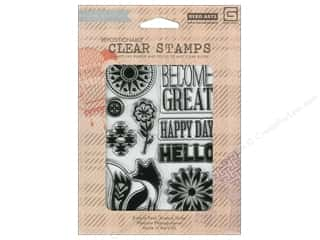 Outdoors Stamps: BasicGrey Clear Stamps 9 pc. Grand Bazaar Small Things