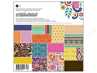BasicGrey Designer Papers & Cardstock: BasicGrey Paper Pad 6 x 6 in. Grand Bazaar 36 pc.