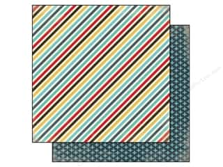 Carta Bella 12 x 12 in. Pape Boy Stripes (25 piece)