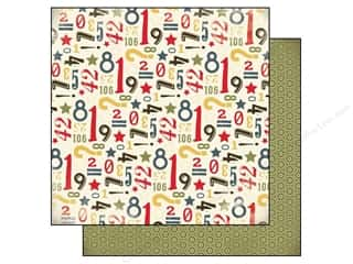 Carta Bella ABC & 123: Carta Bella 12 x 12 in. Paper Boy Oh Boy Rough And Tough (25 pieces)