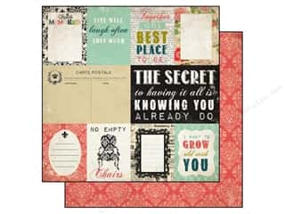 Carta Bella Family: Carta Bella 12 x 12 in. Paper Moments & Memories Journaling Cards (25 pieces)
