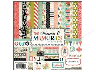 Carta Bella Carta Bella Collection Kit: Carta Bella Collection Kit 12 x 12 in. Moments & Memories