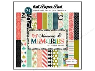 Carta Bella Carta Bella Paper Pad: Carta Bella 6 x 6 in. Paper Pad Moments & Memories