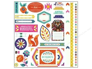 Photo Corners Best of 2013: BasicGrey Element Stickers Grand Bazaar