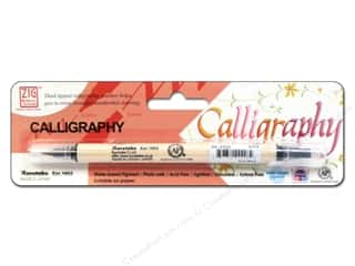 Zig Calligraphy Pen Pkg Pure Black