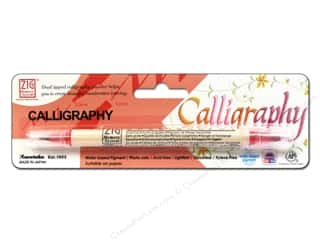 Zig Calligraphy Pen Pkg Pure Red