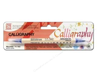 Zig Calligraphy Pen Pkg Pure Blue