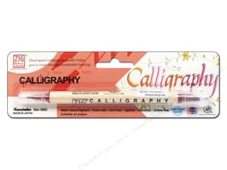 Burgundy: Zig Calligraphy Dual Tip Pen Antique Burgundy