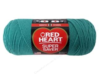 Red Heart Super Saver Yarn Jade 7 oz.