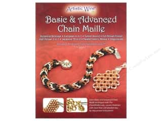 Artistic Wire Beading & Jewelry Making Supplies: Artistic Wire Basic & Advanced Chain Maille Book by Lauren Andersen