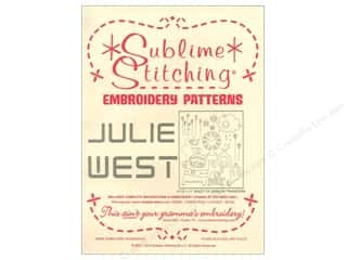 Sublime Stitching Embroidery Transfers Julie West