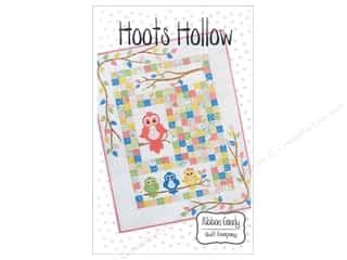 Ribbon Candy Quilt Company Animals: Ribbon Candy Quilt Hoots Hollow Pattern