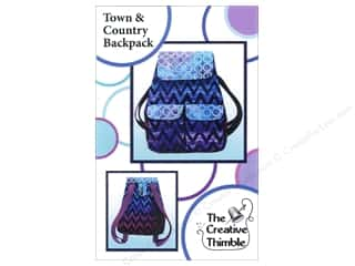 Tote Bags / Purses Patterns: Creative Thimble Town & Country Backpack Pattern