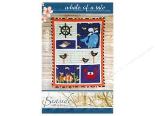 Beach & Nautical $10 - $43: Mckay Manor Musers Whale Of A Tale Blanket Pattern