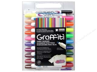 Weekly Specials Quilting Rulers: Uchida Fabric Marker Graffiti Set 30pc