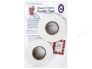 "Bonded Batting: Marti Michell Fusible Tape 1""x 30yd 2 Rolls"
