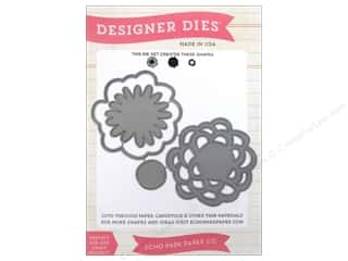 Design Master $8 - $13: Echo Park Designer Dies Simple Life Flowers