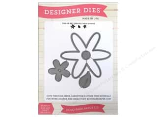 Echo Park Designer Dies Fine And Dandy Flower Set 1