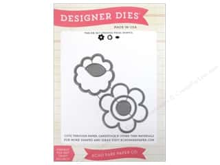 Echo Park Designer Dies Fine And Dandy Flower Set 2