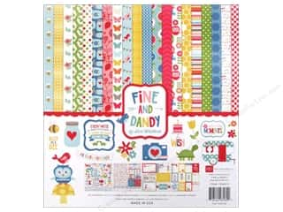 Echo Park Collection Kit 12x12 Fine And Dandy