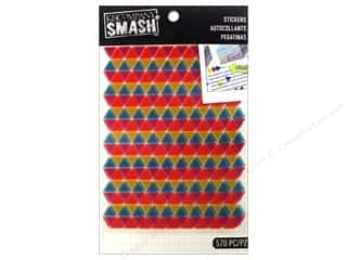 K&Co Smash Stickers Triangle Neon