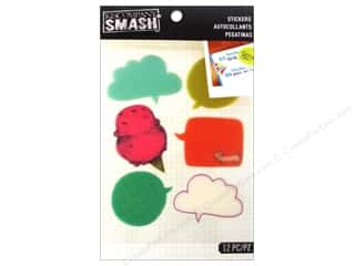 K & Company K&Co Sticker: K&Company Smash Stickers Label Word Bubble